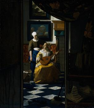 Johannes Vermeer : The Love Letter